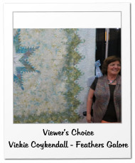Viewer's Choice Vickie Coykendall - Feathers Galore