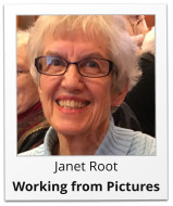 Janet Root Working from Pictures