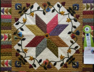 Applique HM: Star Gazing by Shirley Frew