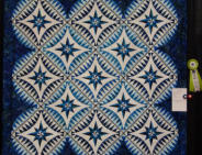 Pieced Single Maker HM: Something Blue by Barbara Grimsley