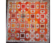 Pieced Multiple Makers 3rd: Orange You Glad? by Jill Escriva