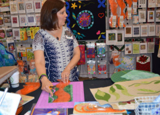 vendors at genesee valley quiltfest